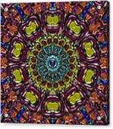 Chapel Window Acrylic Print