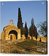 Chapelle D'eygalieres En Provence. Acrylic Print