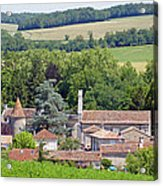 Charente Village Acrylic Print