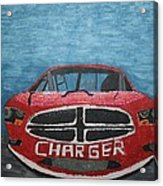 Charger Art By My Son Acrylic Print