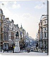 Charing Cross In London Acrylic Print