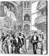 Charity Ball, 1880 Acrylic Print by Granger