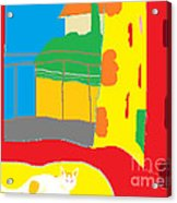 Charity By The Window Acrylic Print by Anita Dale Livaditis