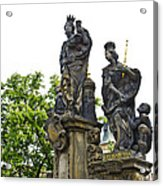 Charles Bridge - Prague Acrylic Print