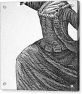 Charles Deon De Beaumont Acrylic Print