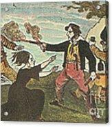 Charles Gibbs, American Pirate Acrylic Print