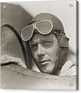 Charles Lindbergh 1902-1974 Wearing Acrylic Print by Everett