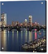Charles River Yacht Club Acrylic Print by Juergen Roth