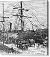 Charleston: Cotton Ship Acrylic Print