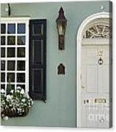 Charleston Doorway - D006767 Acrylic Print
