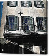Charleston Houses Acrylic Print