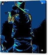 Winterland Cosmic Fiddler Acrylic Print
