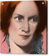 Charlotte Bronte, English Author Acrylic Print