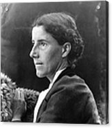 Charlotte Perkins Gilman Acrylic Print by Granger