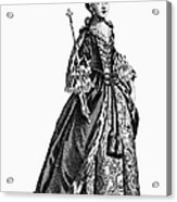 Charlotte Sophia (1744-1818) Acrylic Print by Granger