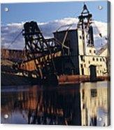 Chatanika Gold Dredge, Alaska Acrylic Print