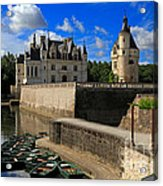 Chateau Chenonceau Loire Valley Acrylic Print