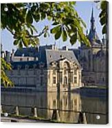 Chateau De Chantilly Acrylic Print