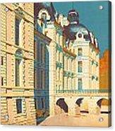 Chateau De Cheverny Acrylic Print