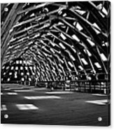 Chatham Dockyard Covered Slip No3 Acrylic Print by Dawn OConnor