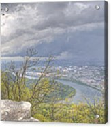 Chattanooga Valley Acrylic Print