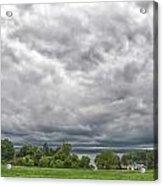 Chautauqua Lake Clouds 8625 Acrylic Print