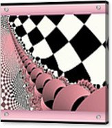 Checkers The Mouse Mechanical Tail Acrylic Print