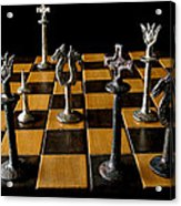 Checkmate Acrylic Print by David Salter