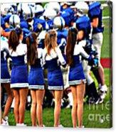 Cheerleaders Acrylic Print
