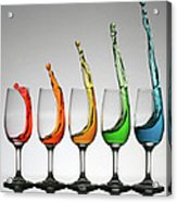 Cheers Higher Acrylic Print
