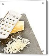 Cheese Grater Acrylic Print