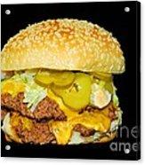 Cheeseburger Acrylic Print