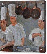 Chef's Secret Acrylic Print