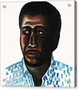 Cheick Oumar Sissoko Acrylic Print