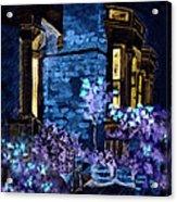 Chelsea Row At Night Acrylic Print