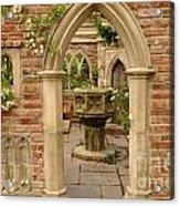 Chelsea Stone Archway Acrylic Print