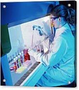 Chemist Acrylic Print