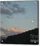 Cherokee Moonrise Acrylic Print