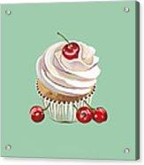 Cherry Cream Acrylic Print