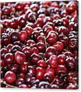 Cherry Acrylic Print by Francois Cartier