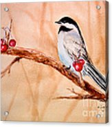 Cherry Picker Acrylic Print