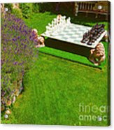 Chess At Large I Acrylic Print