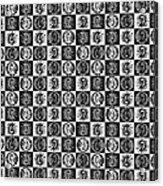 Chess Board Acrylic Print