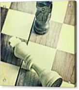 Chess Acrylic Print by Joana Kruse