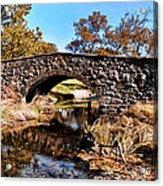 Chester County Bow Bridge Acrylic Print