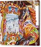 Chester The Carousel Horse Acrylic Print