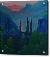 Chesterfield Gorge Acrylic Print