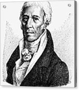 Chevalier De Lamarck Acrylic Print