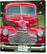 Chevrolet 1941 Acrylic Print