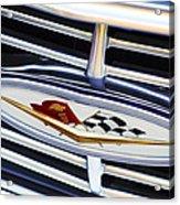 Chevrolet Emblem Acrylic Print